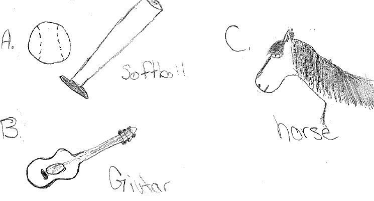 CWB baseball horse guitar