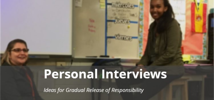 Personal Interviews with Novice Learners: A Spring Update